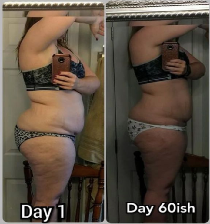 15 lbs weight transformation