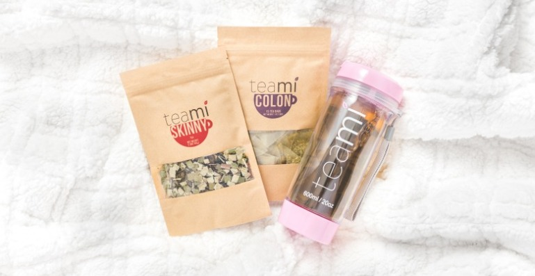 Teami Skinny & Colon Detox Teas