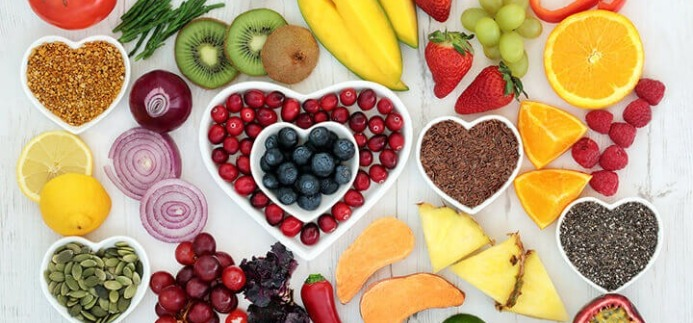 healthy fruits and vegetables for fasted cardio